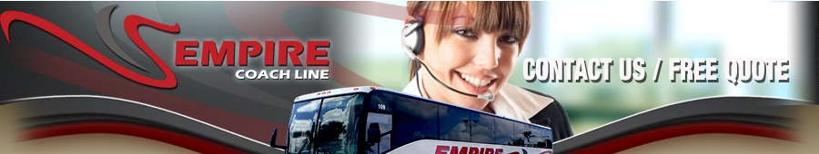 Empire Coach Line | Contact Us / Request a FREE Quote